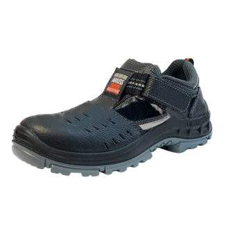 Polubotinki Korvet s perforatsiej sandalii KP